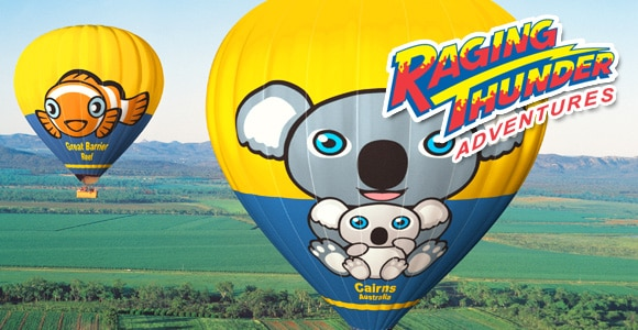 Balloon & Barron Rafting Package Cairns