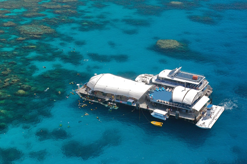 Norman Reef Pontoon Cairns.